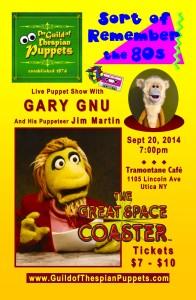 Puppet Show_Gnu Poster